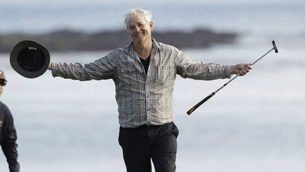 Film festival organizers hope to capitalize on Murray's love of golf.