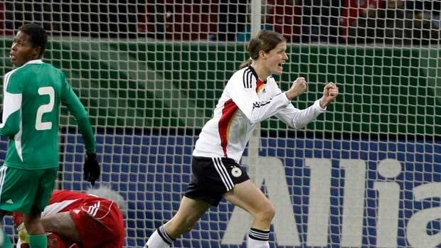 Germany's Kerstin Garefrekes is one player Nigeria will have to keep close tabs on.