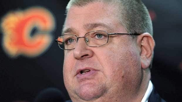 Jay Feaster took over as Calgary's interim GM on Dec. 28 when Darryl Sutter resigned.
