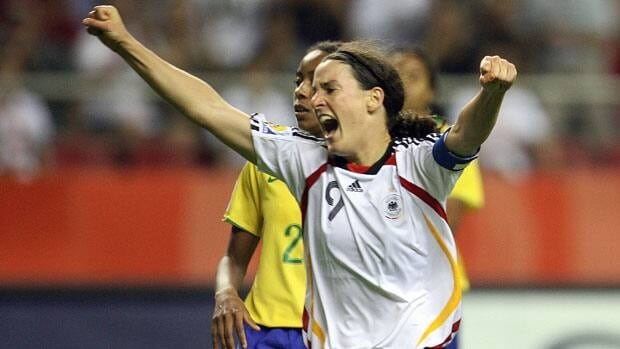 Germany's Birgit Prinz is a three-time FIFA World Player of the Year.
