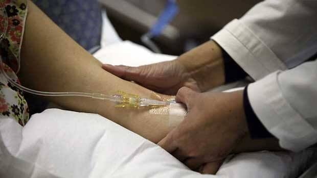 An infusion treatment for multiple sclerosis. An oral drug is now an option for some Canadians with MS who aren't improving with injection and infusion medications.