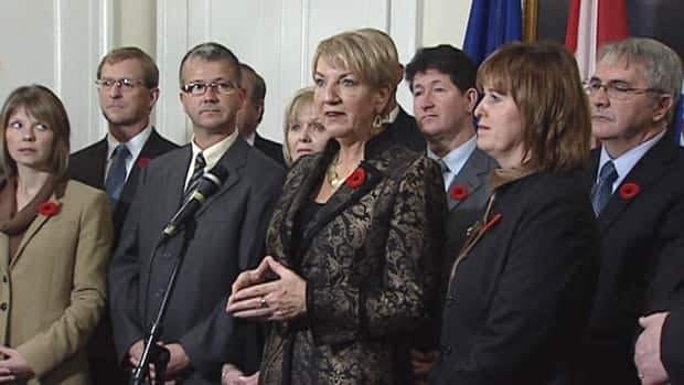 So far, none of the cabinet ministers who served with former premier Kathy Dunderdale have decided to enter the PC leadership race.