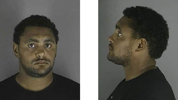 Winnipeg Jet Dustin Byfuglien is shown in a Hennepin County Sheriff's Office mugshot around the time of his arrest on Aug. 31.