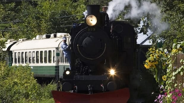 Wakefield's steam train has been offline since the summer after heavy rains damaged the tracks.