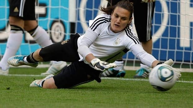 Goalkeeper Nadine Angerer is a key player for Germany at this Women's World Cup.