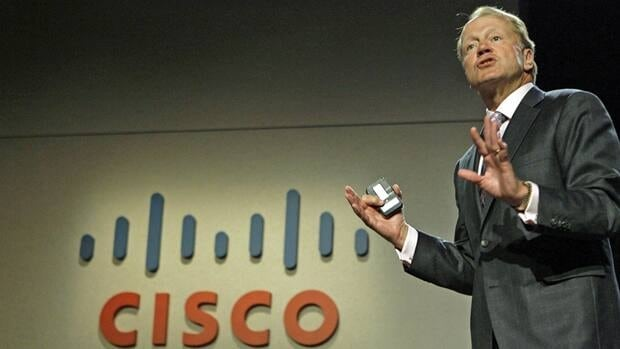 Cisco Systems CEO John Chambers, shown in Las Vegas in January 2010, announced cuts to its global workforce Wednesday.