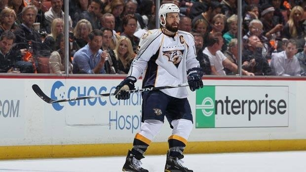 Shea Weber and the Nashville Predators recently eliminated the Anaheim Ducks from the playoffs.