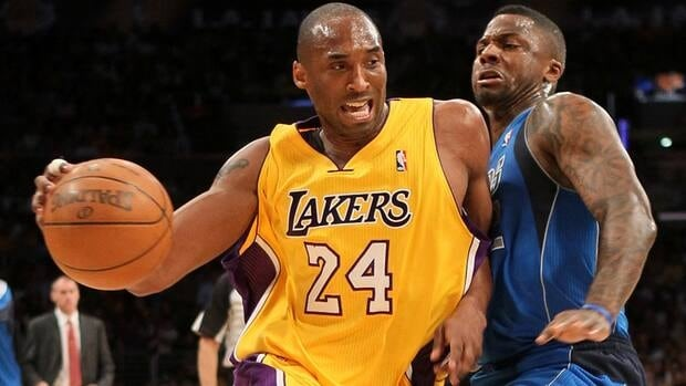 Lakers superstar Kobe Bryant (24) spent a portion of his childhood in Italy.