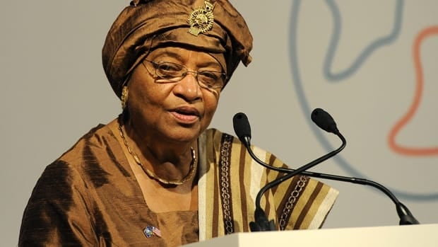 The Nobel committee said of Ellen Johnson Sirleaf, president of Liberia: 'Since her inauguration in 2006, she has contributed to securing peace in Liberia.'