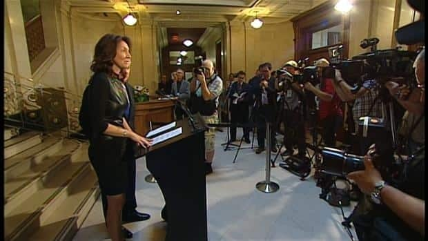 Nathalie Normandeau announced Tuesday she is quitting politics for personal reasons.
