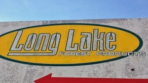 Long Lake Forest products sign