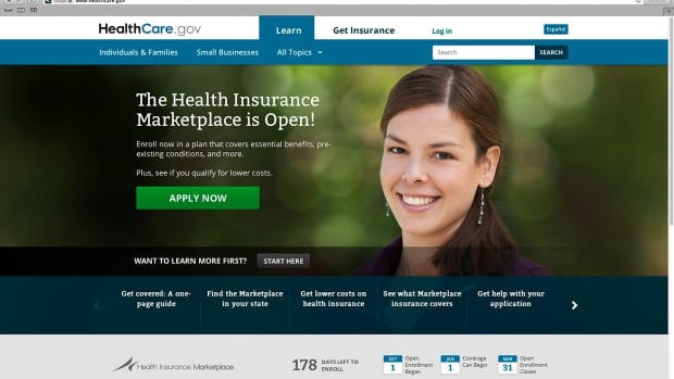 The main landing web page for HealthCare.gov was primarily built by Canadian firm CGI Group Inc.