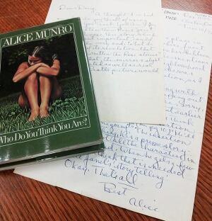 McMaster University's Alice Munro archive