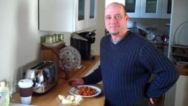 Gerry Hamilton of Argyle Shore in P.E.I. is finally able to take his skills out of his own kitchen after waiting some four months for a background check.
