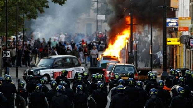 British police revealed Tuesday that they sent officers to protect major shopping centres and the 2012 Olympics sites after intercepting phone and social network messages saying they were targets for rioters.