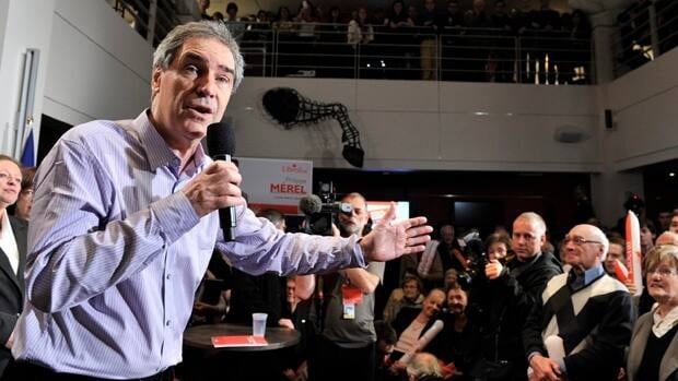 Liberal Leader Michael Ignatieff speaks during a campaign stop Thursday in Quebec City.
