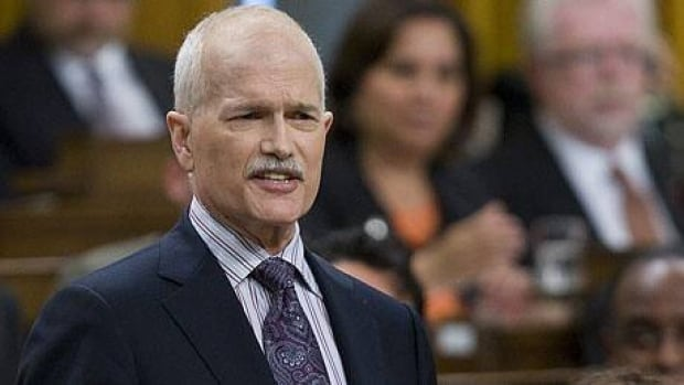 NDP Leader Jack Layton rises during Question Period in the House of Commons, Wednesday, June 8, 2011. Adrian Wyld/Canadian Press