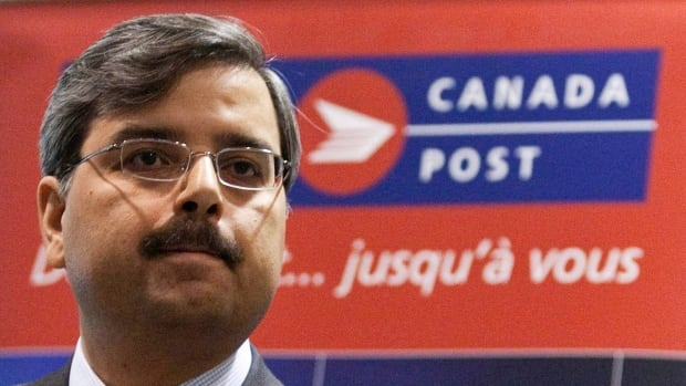 President and CEO of Canada Post Deepak Chopra is meeting with Canadian Union of Postal Workers president Denis Lemelin in Ottawa to try to avert a strike.