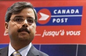 Canada Post CEO Deepak Chopra