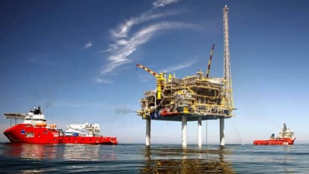 The production platform for Encana Corporation's Deep Panuke offshore natural gas project started up late last year after a string of delays.