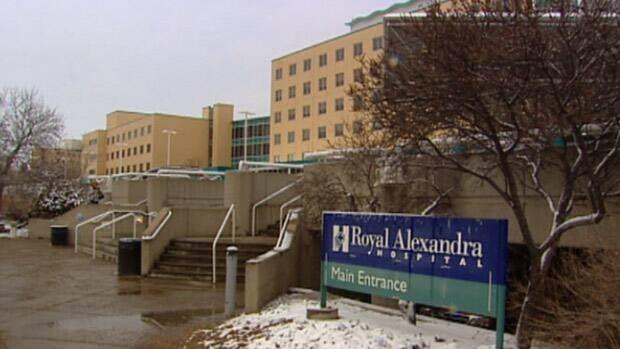 Royal Alexandra Hospital in Edmonton.