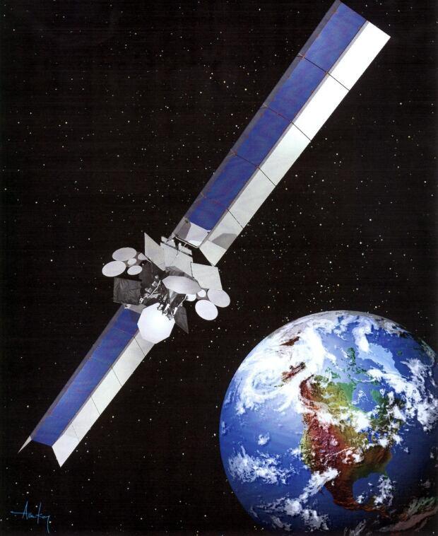 Telesat's Anik F2 satellite