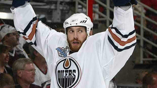 Fernando Pisani scored often and up to the very end for the Edmonton Oilers in their bid for the Stanley Cup in 2006.
