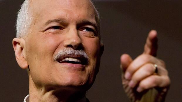Jack Layton, shown during an NDP convention in June 2011, died on Aug. 22 after a battle with cancer. His farewell letter to Canadians, written days before his death, became the most-viewed story on CBC.ca in 2011.