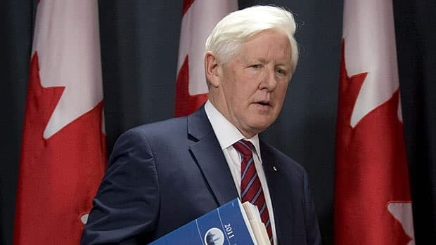 Interim Liberal leader Bob Rae, seen at a press conference last week, said June 14 the Conservative cabinet must trim its own spending as it implements cuts to balance the budget.