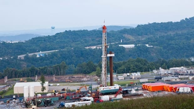 A natural gas well operated by Northeast Natural Energy on Saturday, Aug. 6, 2011. Industry is now looking into using the controversial fracking method, also known as hydraulic fracturing, to extract oil near Norman Wells, N.W.T.