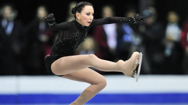 Elizaveta Tuktamisheva of Russia performs her short program in the women's competition during the Skate Canada International figure skating competition Friday, October 28, 2011 in Mississauga.