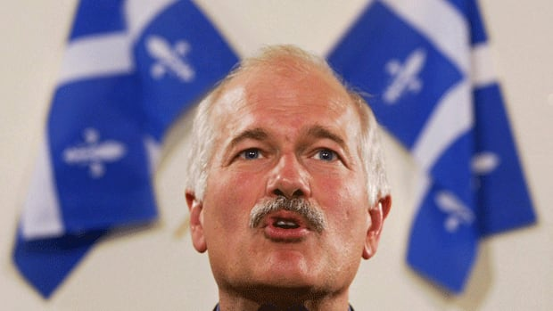 Federal NDP Leader Jack Layton died Monday after a battle with cancer.