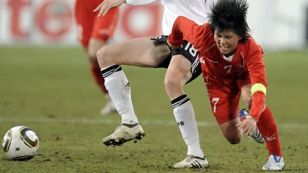 Midfielder Jo Yun-Mi is a key player for North korea.