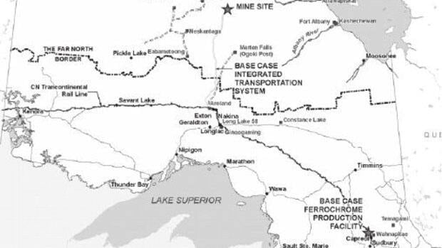 An environmental assessment has begun on a chromite smelter proposed to be built north of Sudbury.