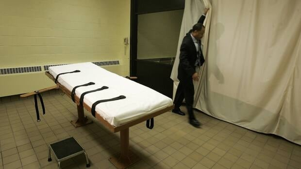 A 2005 file photo shows the death chamber at the Southern Ohio Corrections Facility in Lucasville, Ohio. An Amnesty International Report released Monday says that the number of countries in 2010 that have the death penalty rose to 23, up four from the previous year.
