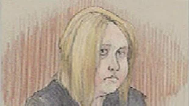 Katrina Effert, shown here in a 2009 court sketch, was sentenced on an infanticide conviction Thursday.