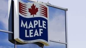 mi-maple-leaf-foods-sign