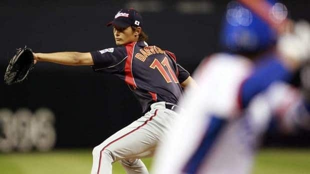 Yu Darvish went 18-6 with a 1.44 ERA and 276 strikeouts this season for the Hokkaido Nippon Ham Fighters of Japan's Pacific League.