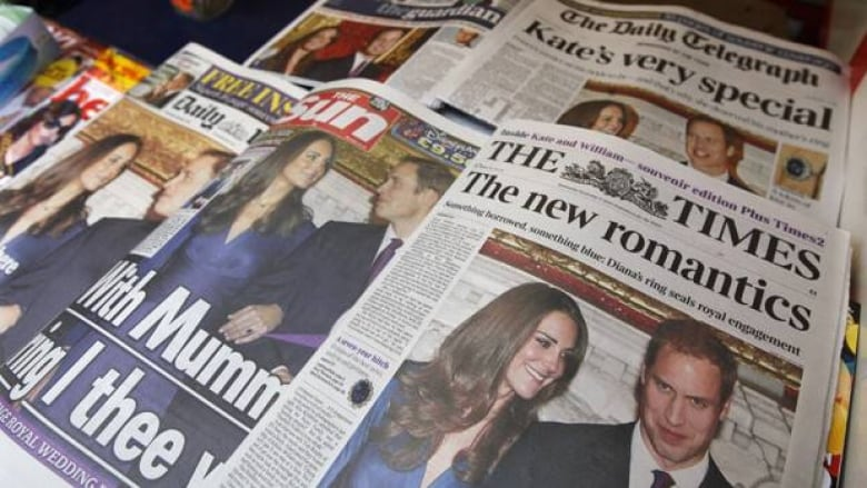 British media taking it easy on William and Kate | CBC News