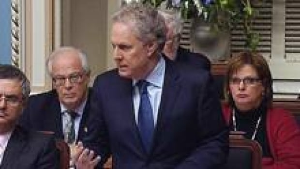 Jean Charest said the government's refusal to hand over the records is 'unacceptable.'