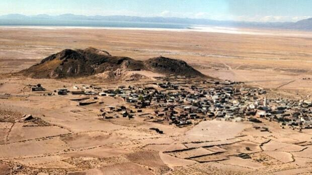 British historian and cartographer Jim Allen believes the legendary lost city of Atlantis was located in Quillacas, Bolivia, above, but recent research suggests it is actually buried under marshlands near Cadiz in southern Spain. (Reuters)