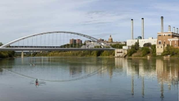 The plan for the new Walterdale Bridge is shown in this image provided by the city. City of Edmonton