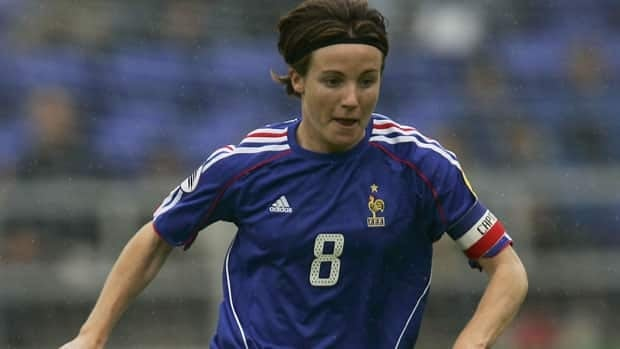 Sonia Bompastor has played over 100 games for France.
