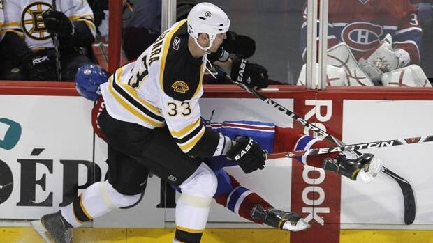 Bruins defenceman Zdeno Chara made headlines after this hit against Montreal's Max Pacioretty.