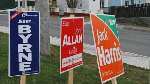 The NDP's Jack Harris was re-elected in St. John's East. (Mark Quinn/CBC)