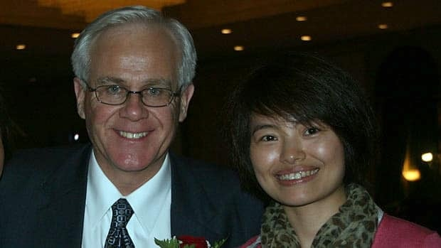 Toronto-area MP Bob Dechert is pictured with Shi Rong, right, in an undated photo. Dechert, the parliamentary secretary to the minister of Foreign Affairs, acknowledges he sent flirtatious emails to Shi, a Toronto-based journalist with China's state-run news agency.