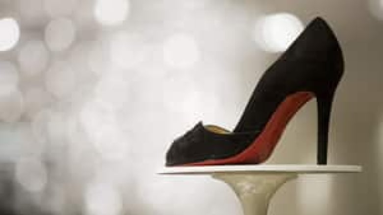 1e1faf7f836 A New York judge has refused to prevent a competitor from offering red-soled  shoes such as these stilettos by Christian Louboutin.