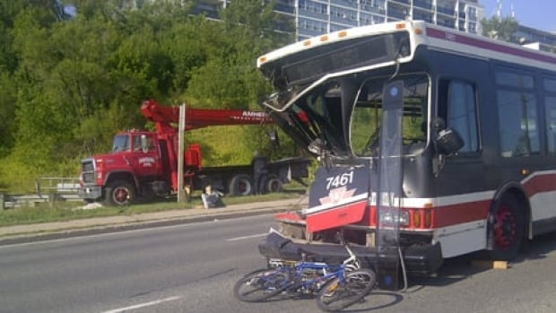 Half of the TTC's 18,000 accidents between 2009 and 2013 involved buses and 5,000 were considered avoidable.