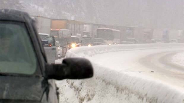 Environment Canada says 15 to 20 centimetres of snow is expected for the Coquihalla from Hope to Merrit this long weekend.