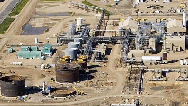 The Christina Lake production plant. Cenovus profit tripled on increased production. (Cenovus)